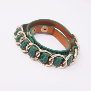 Jewelry - Snakeskin Wrap Bracelet